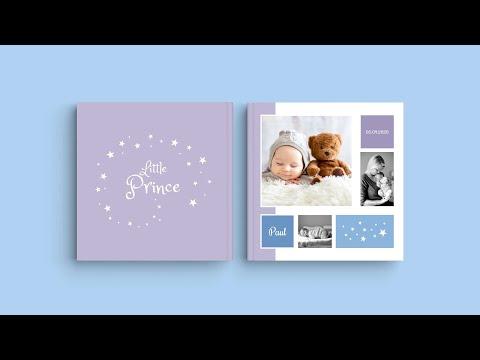Inspiration pour votre livre photo - 'Baby Paul'