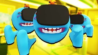 MR. MEESEEKS ARMY! - Rick and Morty: Virtual Rick-ality Gameplay - VR HTC Vive Pro