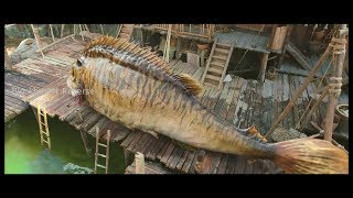 Journey To The West Clip Fish scene in reverse Blockbuster