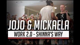 Work 2.0 - Shinna's Way / Jojo & Mickaela Urban Kiz Dance @ Barcelona Temptation Festival 2017