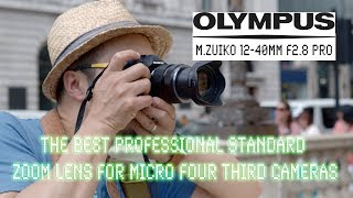 BEST standard zoom for Pros - Olympus M.Zuiko 12-40mm f2.8 - Red35 Review