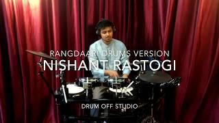 Rangdaari | Drums Version | Lucknow Central | Arijit Singh | Farhan Akhtar | Diana Penty