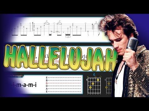 Hallelujah [Guitar]+[Tab]+[Chords]+[Karaoke]
