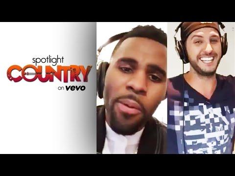 Luke Bryan & Jason Derulo's 'Want To Want Me' Karaoke (Spotlight Country)