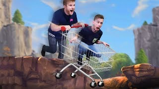 Shopping Carts Only Challenge! | Fortnite Duos [Ep 5]