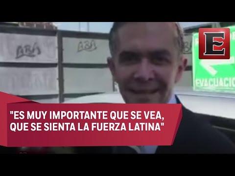 Mancera hace un llamado para que los latinos voten