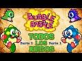 Todos Los Juegos De Bubble Bobble Parte 1