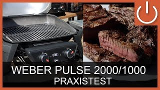 Weber Pulse 2000/ Pulse 1000 Elektrogrill - Praxistest - Thomas Electronic Online Shop