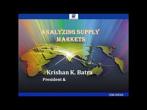 , title : ''Analyzing Supply Markets'