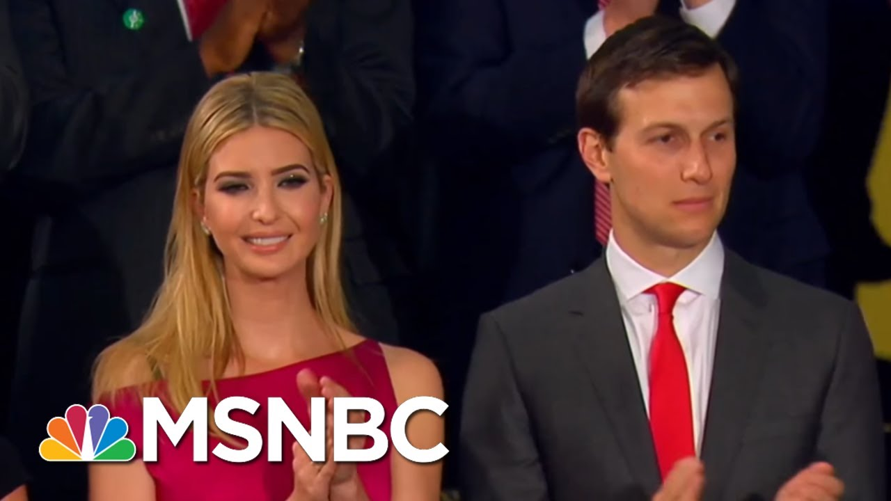"Butler: Giuliani ""Offering Jared Kushner's Head"" To Save Ivanka   The Beat With Ari Melber   MSNBC thumbnail"