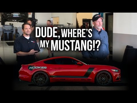 Dude Where's My Mustang? : Winning the Hooker BlackHeart Mustang