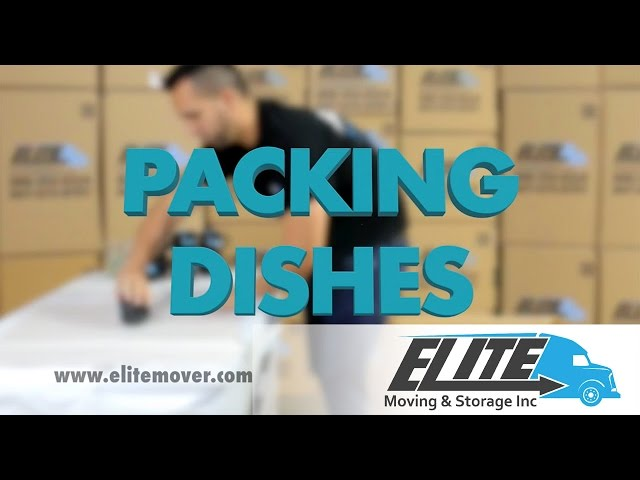 How To Pack Dishes When You Are Moving