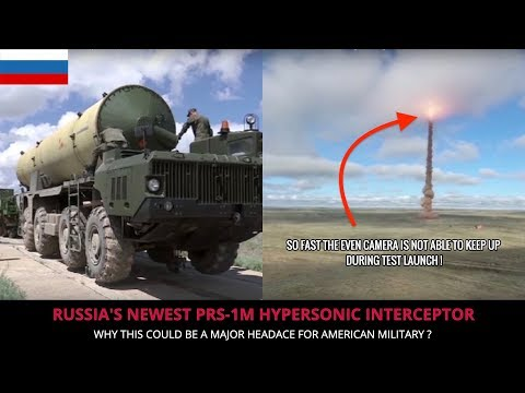 RUSSIAN PRS 1M HYPERSONIC INTERCEPTOR ! FULL ANALYSIS