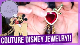 FANCY Disney Jewelry Unboxing!! | Couture Kingdom