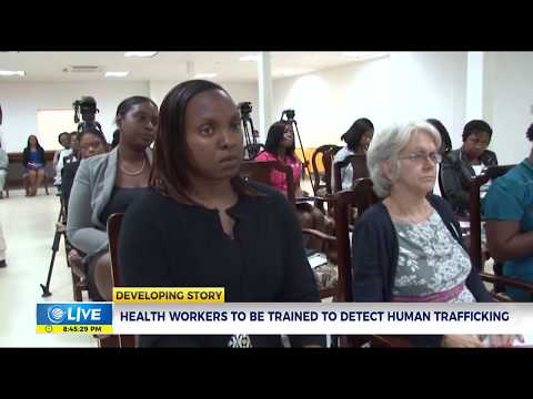Healthcare workers to be trained to detect victims of Human Trafficking