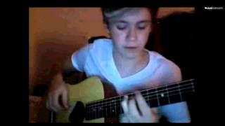 Niall Horan  How To Play Live While Were Young On Guitar