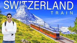 Trains in Switzerland | Interlaken to Luzern | Europe Trip EP-38