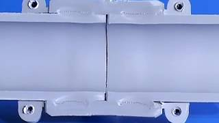 Разрез сварных полибутеновых электрофузионных фитингов Флексален
