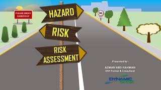 Hazard, Risk & Risk Assessment
