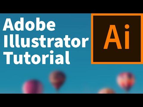 Adobe Illustrator Tutorial | The Complete Beginners Tutorial To Adobe Illustrator | Free Course