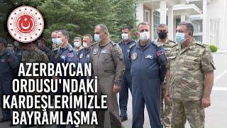 TurAz Kartalı Tatbikatına Katılan Personelimiz Azerbaycan Ordusu'ndaki Kardeşlerimizle Bayramlaştı