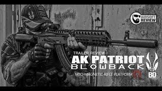 TRAILER AK PATRIOT # BO DYNAMICS # AIRSOFT REVIEW
