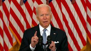 video: Joe Biden: 'I stand squarely behind' US withdrawal