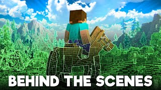 Lost Steve: BEHIND THE SCENES - Alex and Steve Life (Minecraft Animation)