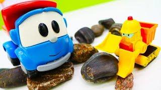 Игры для малышей Грузовичок Лева: собираем рабочие машинки!