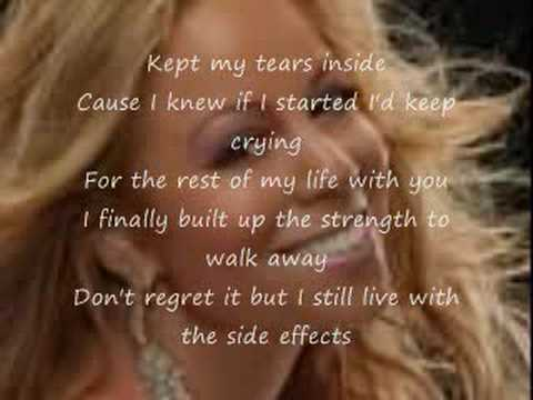 Mariah Carey Ft. Young Jeezy Side Effects - Lyrics