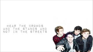 5 Seconds of Summer- Hearts Upon Our Sleeve (Lyrics)