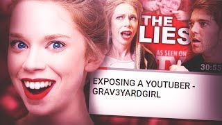 WHY GRAV3YARDGIRL'S CHANNEL DIED
