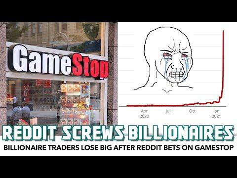 Breakdown: Billionaire Traders LOSE BIG After Reddit Community Screws Them With GameStop