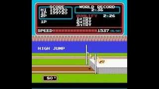 任天堂電玩完美破關紀錄10田徑運動