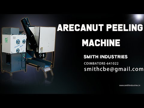 Automatic Arecanut Dehusking Machine