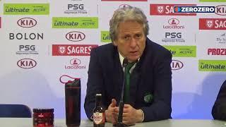 Jesus Comenta Resultado Do Clássico Entre Benfica E FC Porto