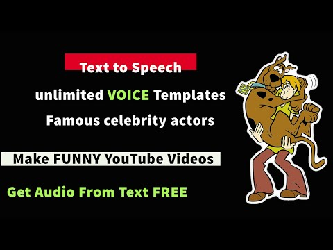 Free Text to speech Software Online with MOVIE Actors dubbing