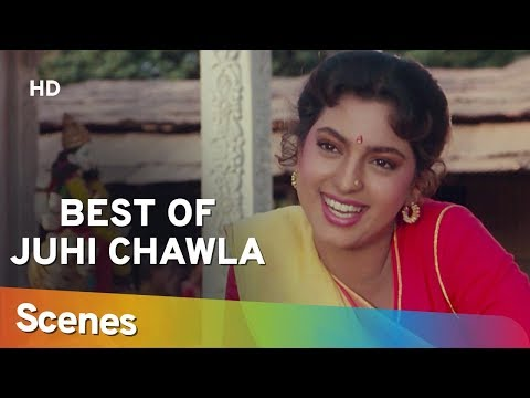 Best of Juhi Chawla Scenes from Benaam Badsha (HD) | Anil Kapoor | Shilpa Shirodkar - 90's Hit Movie