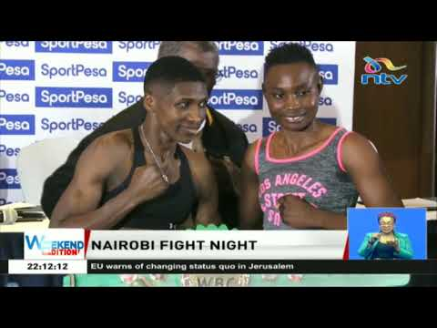 Nairobi fight night: Zarika vs Phiri