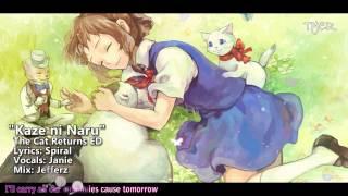 "[TYER] English The Cat Returns ED - ""Kaze ni Naru"" [Ft.Janie]"