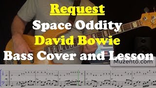 Space Oddity   Bass Cover And Lesson   Request