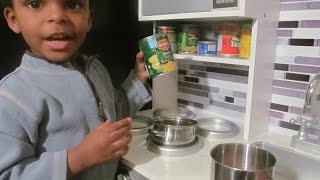 DIY Pretend/Play Toy Repurposed Canned Food For Childrens Grocery Or Kitchen Tutorial