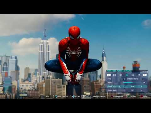 Photo Mode Trailer de Spider-Man