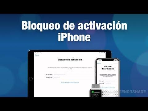 quitar el bloqueo de activación del iPhone/iPad