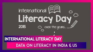 International Literacy Day 2020: Key Facts on Education in India And US - Download this Video in MP3, M4A, WEBM, MP4, 3GP