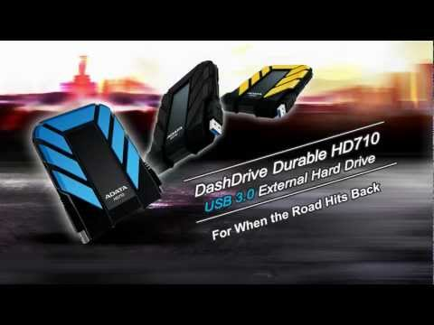 A-data DashDrive 1TB Durable HD710