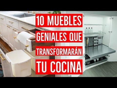 10 Muebles GENIALES para tu COCINA 💡 | Cocinas pequeñas y modernas 2020