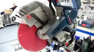 How To Adjust Zero Bevel on the Bosch GCM 12 GDL