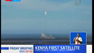 Kenya joins the list of developed countries who have launched home based satellites into space