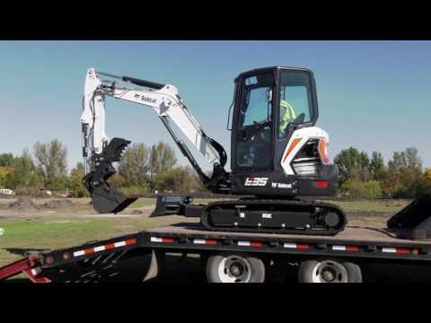 Bobcat E35 25HP EXCAVATOR in Brunswick, Georgia - Video 2